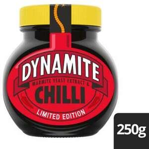 MARMITE DYNAMITE CHILLI 250g LIMITED EDITION Brand New Sealed