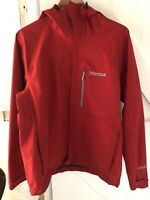 Marmot Mens Waterproof Jacket Goretex Red Size Medium M