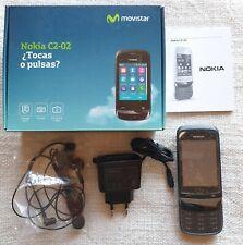 Teléfono Móvil Táctil SmartPhone Nokia C2-02 Movistar Como Nuevo a Estrenar