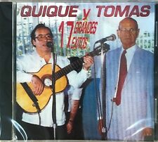 "QUIQUE Y TOMAS - ""17 GRANDES EXITOS"" - CD"