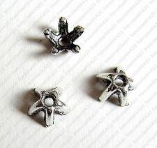 25 Caps calottes coupelles argent 7x7x3.5mm Perles apprêts création  bijoux A364