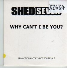 (CV889) Shed Seven, Why Can't I Be You? - 2003 DJ CD