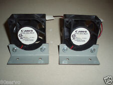 CANON FAN #CF60-H313NID  24VDC 50MA.   (SET OF 2 FANS)  WITH MOUNTING BRACKET