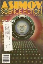 Asimov Sf March 1984 84 Brin Farber Gardner Watson