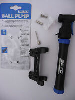 Beto Mini Cycling Ball Pump Bike Bicycle 2 Shot Presta Schrader Football NEW
