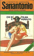 COMMISSARIO SANANTONIO# 118- CHI SI FILMA è PERDUTO  -BERù - 1980