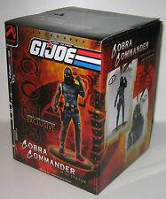 2004 GI Joe Convention Cobra Commander Mini Statue Artist Proof Super Rare MIB