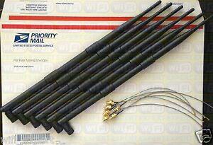 9dBi 6 Antenna Mod Kit No Solder Netgear WNDR4500 N900 Dual Band Router USA
