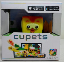 CUPETS ELECTRONIC PETS - TWEET PET FOR APPLE ANDROID IOS w/ FREE APP. SEALED