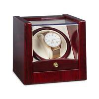 (Ricondizionato) Scatola Porta Orologi Watch Winder Carica Cofanetto Espositore
