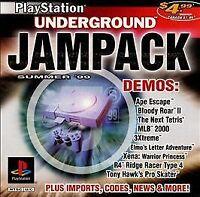 PlayStation Underground Jampack: Summer '99 (Sony PlayStation 1, 1999)
