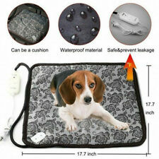 Pets Heated Warmer Bed Waterproof Pad Puppy Dog Cat Mat Electric Heater Cushion