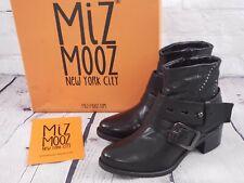 NIB - Miz Mooz Leather Ankle Boots w/ Stud Details Faithful - Black EU 36 5.5-6