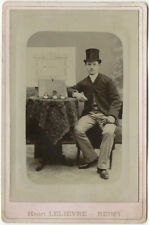 Photo Citrate Reims Homme et Montres Vers 1890