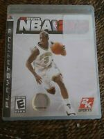 NBA 2K8 Playstation 3 PS3 Video Game Complete FREE FAST SHIPPING