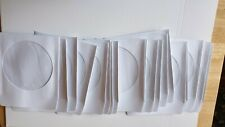 cd/dvd paper covers x 20 new.