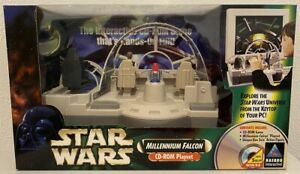 Star Wars - Millenium Falcon CD-ROM Playset - ABSOLUTE RARITÄT - NEU!