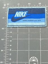 Nike Swoosh Logo Patch Tag Athletic Excellence Since 1972 Sportswear Apparel