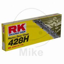 RK Motorrad Standard Kette 428 H 114 Glieder Offen + Clipschloss