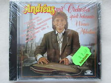 Andreas with orchestra plays famous Viennese MELODIES-CD NEW & OVP