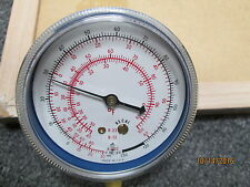 New Other, Ametek Refrigeration Pressure Test Gauge Temp, R-22, R-12, R-502.