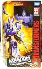 Transformers Kingdom Cyclonus Wfc-K9 Voyager Figure Series In Stock