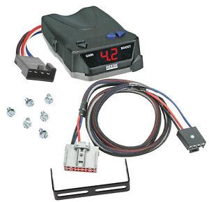 Trailer Brake Control for 19-21 Silverado Sierra 1500 2500 3500 w Wiring Box 1-4