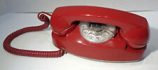Vintage Western Electric Princess 702 Red Dial Telephone!