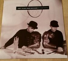 "Pet Shop Boys Left to my own devices 7"" Picture sleeve 1980's"