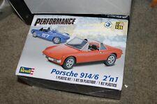Rare Plastic Kit by Revell, Porsche 914/6 2'in 1
