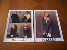 Vintage x2 Farrah Fawcett Full Page Clippings Magazine AD 1993 ICEBERG