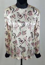 Camisas y tops de mujer blusas 100% seda Talla 38