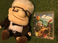PS3 PLAYSTATION 3 PAL GAME + 30cm SOFT PLUSH TOY CARL GRANDPA DISNEY PIXAR UP!