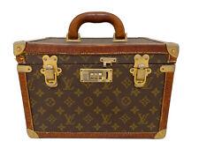 Louis Vuitton 1st Edition  Rare And Vintage Vanity Case Make Up Soap Bag  P Con