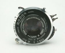 "Vintage Wollensak Raptar 4,7/135mm Lens w/Rapax #0 Shutter F/Graflex 4x5"" Camera"