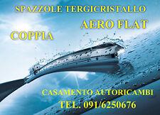 KIT 2 SPAZZOLE TERGICRISTALLO TERGIVETRO AERO FLAT FIAT GRANDE PUNTO 2005 IN POI