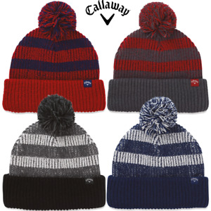 CALLAWAY GOLF POM POM BEANIE - NEW - THERMAL BOBBLE HAT