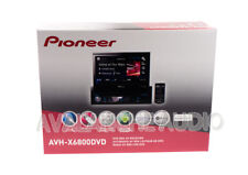 "Pioneer AVH-X6800DVD Single-Din Car Stereo w/ 7"" Flip-Out LCD Touchscreen, iPod"