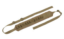 AIRSOFT Tactical Shotgun Sling with 12rd Shellholders m870 - Coyote SOFTAIR