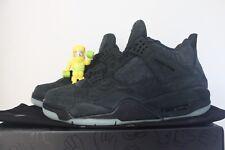 Air Jordan 4 Retro KAWS Black SZ 9 DS iv suede clear Eminem undftd 930155- a1ef34f59