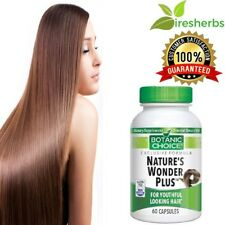NATURE'S WONDER PLUS YOUTHFUL LOOKING HAIR HEALTHY HAIRS SUPPLEMENT 60 CAPSULES