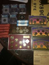 Coin lot. Lot of various coins. Many old coins and misc other coins.