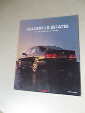 1990s Toyota Camry & Carina E & Corolla & Starlet cars advertising booklet