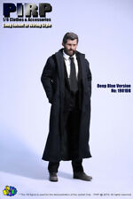 PIRP 1/6 Scale Navy Blue Coat with built in wire