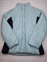 PATAGONIA WOMEN'S DOWN PUFFER PARKA Jacket Coat Goose Down Blue size small (N24)