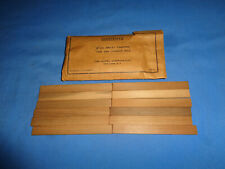 12 Original Lionel #464-51 Sawmill Timber's with Envelope for #464 Sawmill