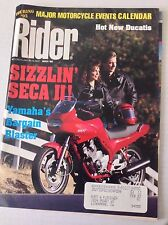 Rider Magazine Seca II Yamaha's Bargain Blaster March 1992 051117nonrh