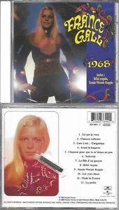 """CD 12 TITRES FRANCE GALL """"1968"""" INCLUS BÉBÉ REQUIN DE 2000 NEUF SCELLE"""