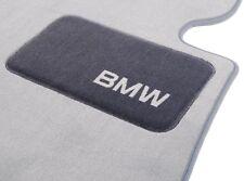 BMW OEM Gray Carpeted Floor Mats 2007-2013 3 Series Convertibles 82112293538
