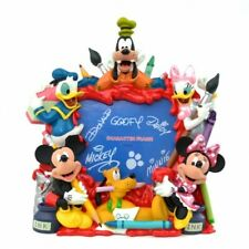More details for disneyland paris mickey and friends painting photo frame    n:2786